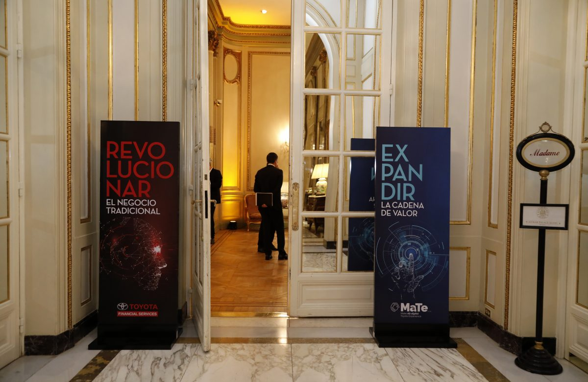 Convención anual de Toyota Financial Service en el Hotel Alvear Palace 05-11-2019   Todos los derechos reservados al autor. Ley 11.723 ph: Oscar Roberto Castro - @robycomby